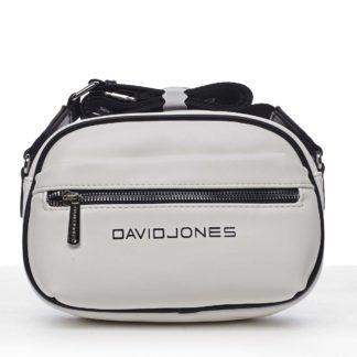 Dámská crossbody kabelka bílá - David Jones Jolanis bílá