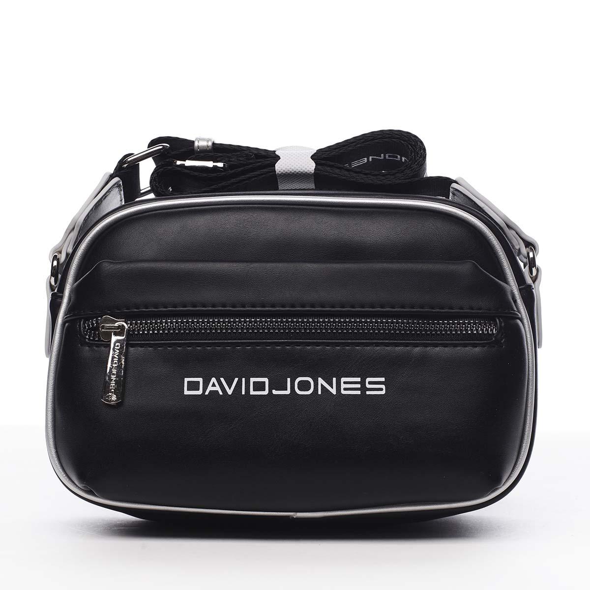 Dámská crossbody kabelka černá - David Jones Jolanis černá