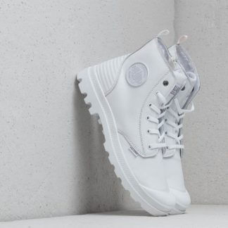 Palladium Pampa Hi Zip Pony PR White/ White