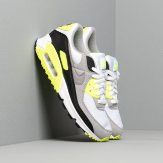 Nike Air Max 90 White/ Particle Grey-Volt-Black