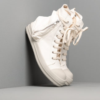 Rick Owens DRKSHDW Bauhaus Sneaks Chalk White