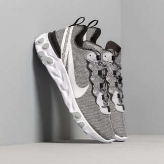 Nike React Element 55 Se White/ Pure Platinum-Wolf Grey-Black