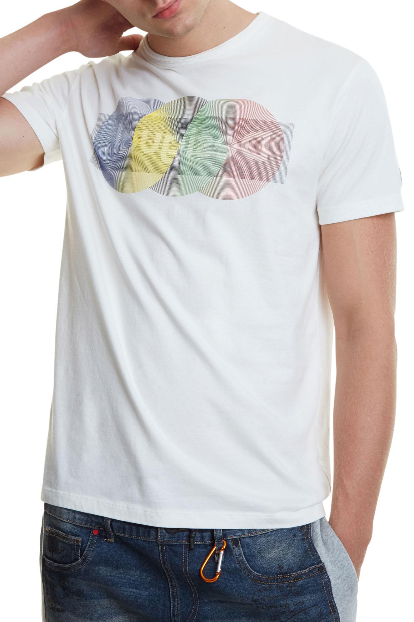 Desigual pánské tričko TS Karamat