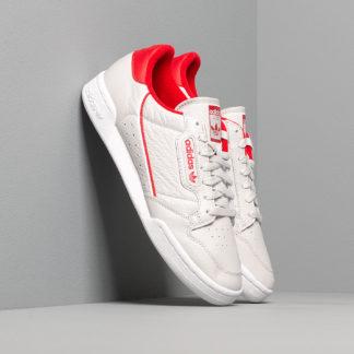 adidas Continental 80 Grey One/ Scarlet/ Ftw White
