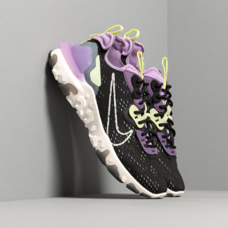 Nike React Vision Black/ Sail-Dk Smoke Grey-Gravity Purple