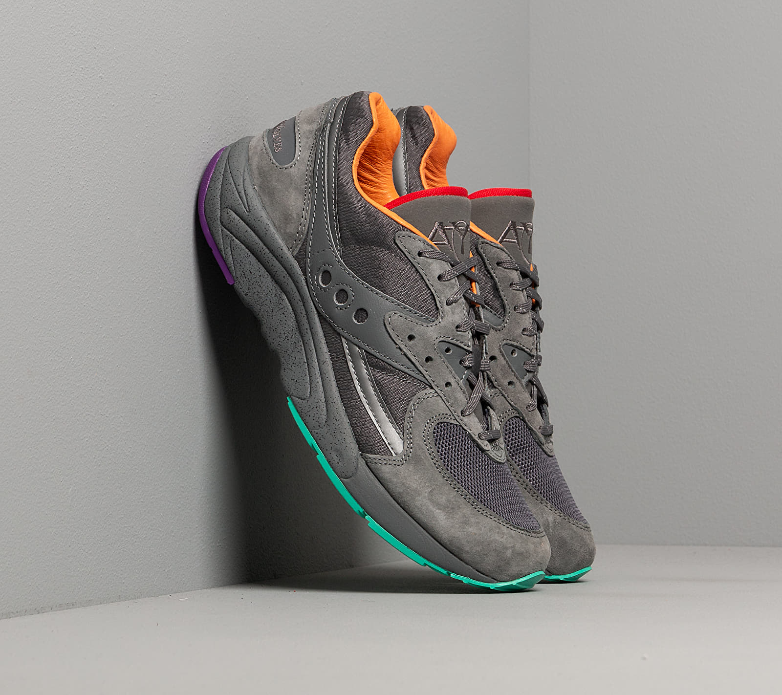 Saucony x Raised By Wolves Aya Grey/ Multi