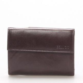 Dámská kožená peněženka čokoládově hnědá - BELLUGIO Bonnie hnědá