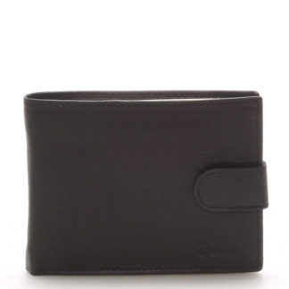 Kožená peněženka černá - Delami 8693 černá