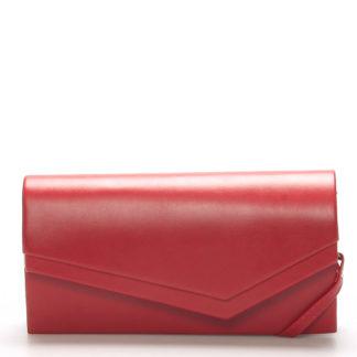 Originální dámské psaníčko červené matné - Delami Phoenix červená