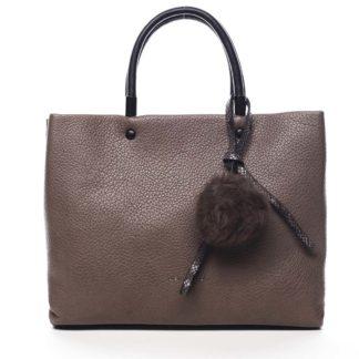 Dámská kabelka do ruky hnědá - Pierre Cardin Krimea hnědá