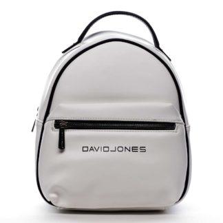 Dámský městský batoh bílý - David Jones Sennyel bílá