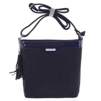 Dámská crossbody kabelka tmavě modrá - Silvia Rosa Shatter tmavě modrá