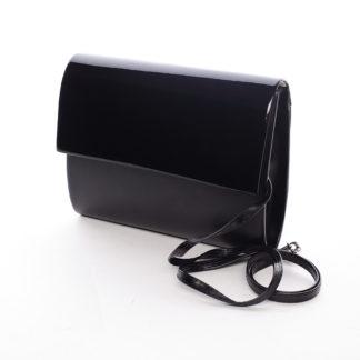Střední dámské elegantní psaníčko černé matné - Delami SanDiego černá