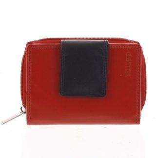 Dámská kožená peněženka červená - Bellugio Eliela červená