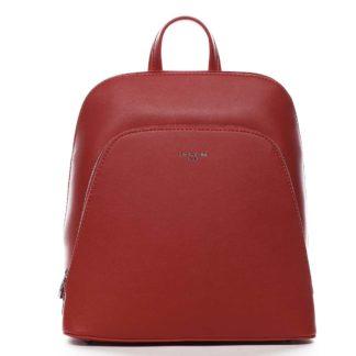 Dámský městský batoh červený - David Jones Yordan červená