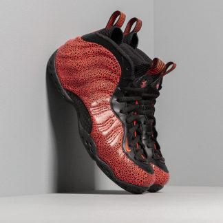 Nike Air Foamposite One Black/ Bright Crimson-Total Crimson