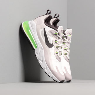 Nike Air Max 270 React Summit White/ Electric Green-Vast Grey