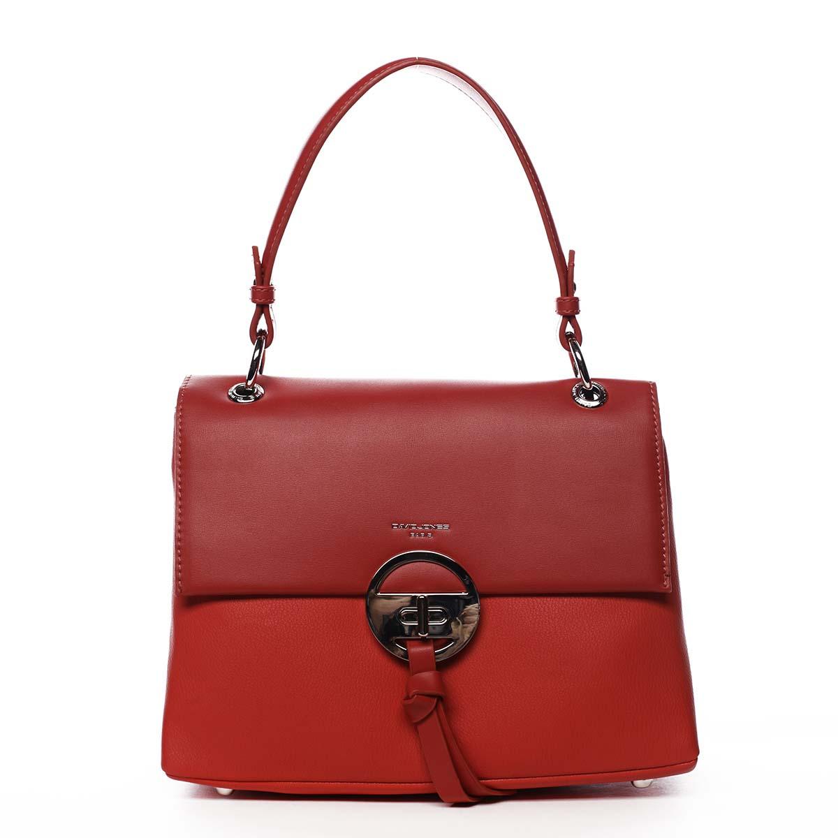 Dámská kabelka červená - David Jones Aminisha červená