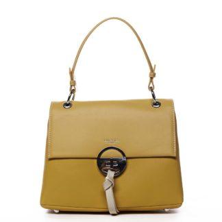 Dámská kabelka žlutá - David Jones Aminisha žlutá