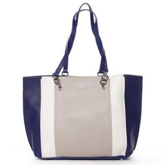 Dámská kabelka přes rameno tmavě modrá - David Jones Reason tmavě modrá