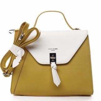 Dámská kabelka do ruky žlutá - David Jones Zapida žlutá