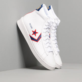 Converse Pro Leather Gold Standard White/Red