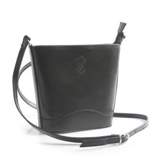 Černá kožená crossbody kabelka ItalY Bryana černá
