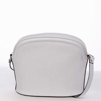Dámská kožená crossbody kabelka bílá - ItalY Tracy bílá
