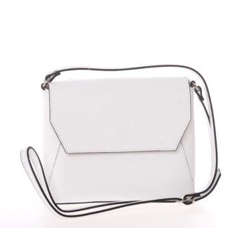 Dámská kožená crossbody kabelka bílá - ItalY Marleta bílá
