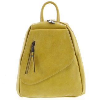 Módní dámský žlutý batoh - Hexagona Pasha žlutá