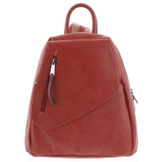Módní dámský červený batoh - Hexagona Pasha červená