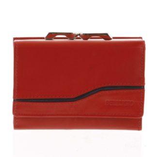 Dámská kožená peněženka červená - Bellugio Tarea červená