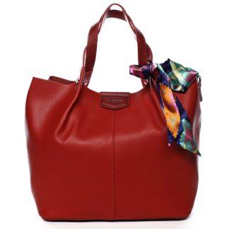 Dámská kabelka červená - David Jones MyWay červená