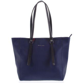 Dámská kabelka přes rameno tmavě modrá - Pierre Cardin Hermiona tmavě modrá