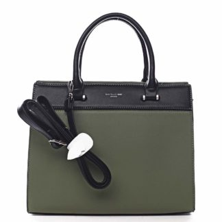 Dámská kabelka do ruky zelená - David Jones Tenerwa zelená