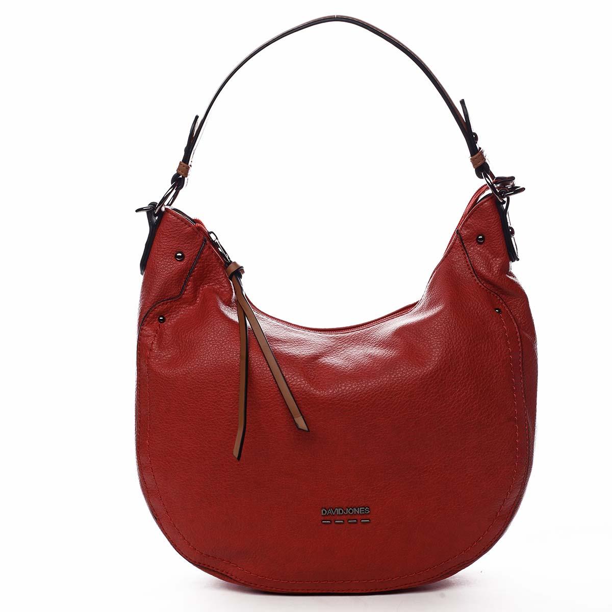 Dámská kabelka červená - David Jones Nadini červená