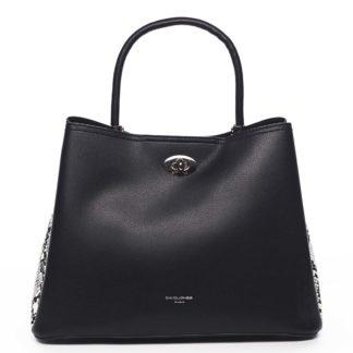 Dámská kabelka černá - David Jones Prestique černá