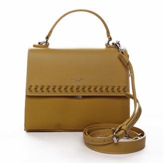 Dámská kabelka do ruky žlutá - David Jones Todeep žlutá
