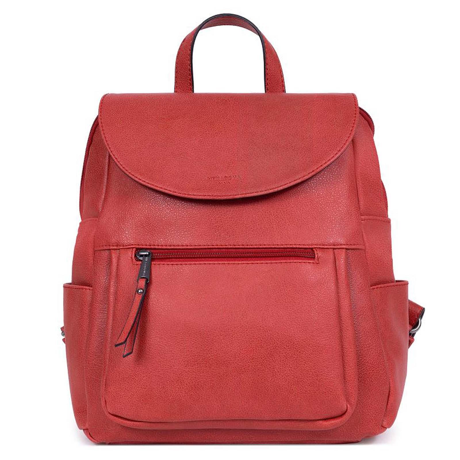 Dámský batoh červený - Hexagona Dahoman červená