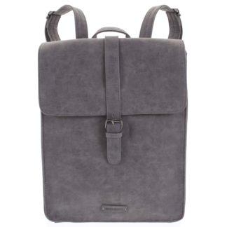 Stylový batoh šedý - Enrico Benetti Darlo šedá