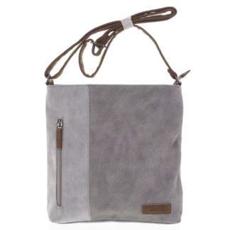 Dámská crossbody kabelka světle šedá - Beagles Witharmy šedá