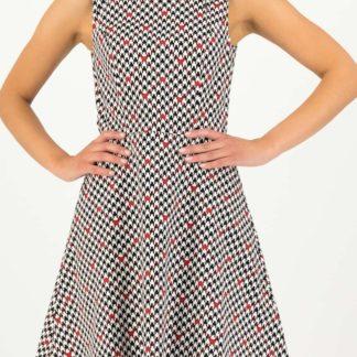 Blutsgeschwister vzorované šaty Etui de La Elodie Robe Classic Chic