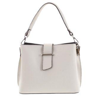 Dámská kožená kabelka do ruky béžová - ItalY Auren béžová
