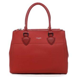 Dámská kabelka červená - David Jones Mille červená