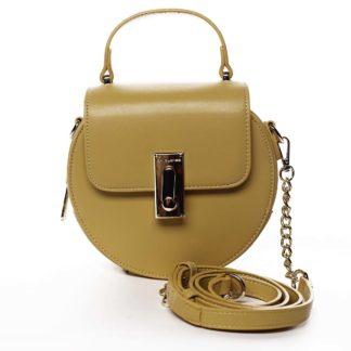 Luxusní dámská kabelka žlutá - David Jones Magnify žlutá