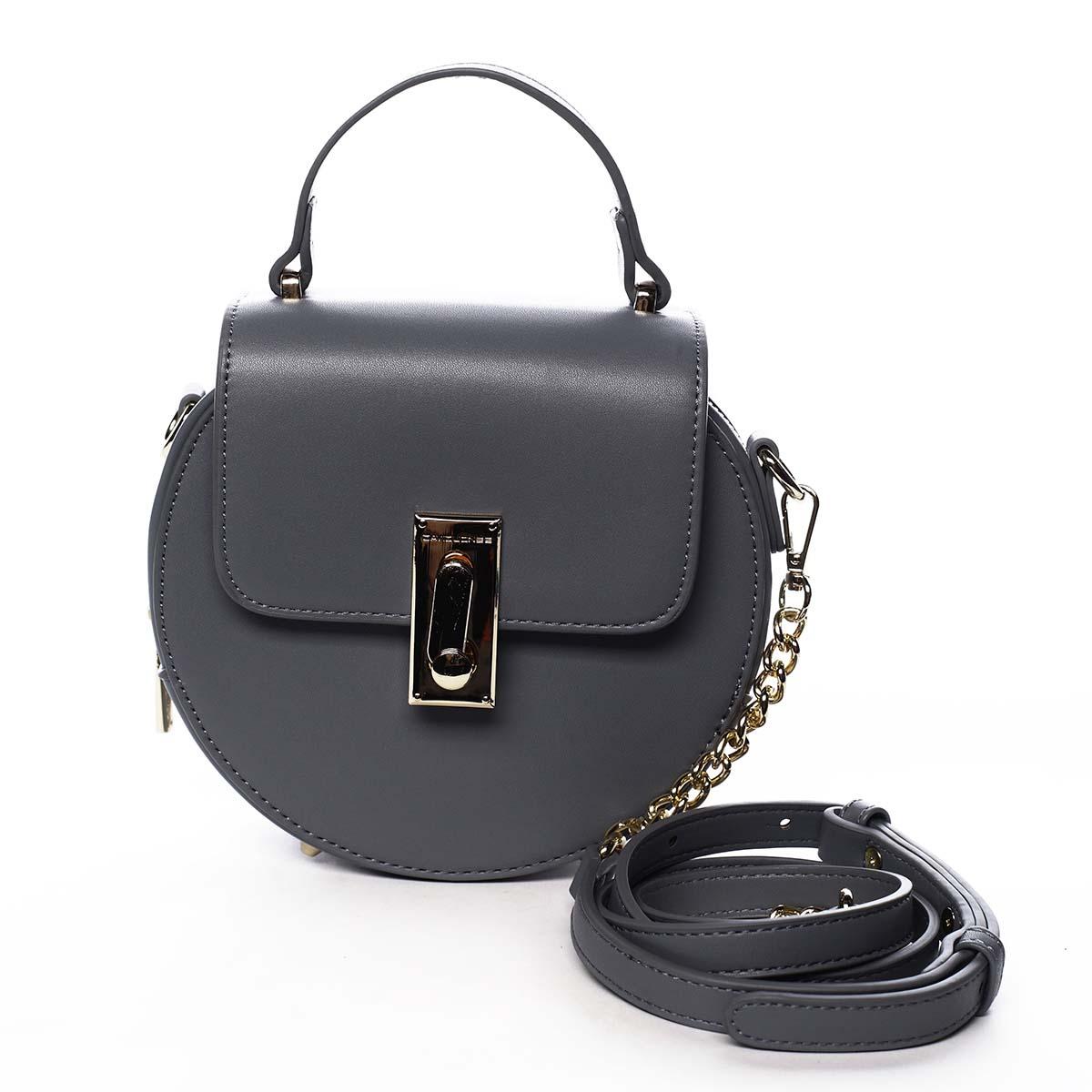 Luxusní dámská kabelka bledě modrá - David Jones Magnify modrá