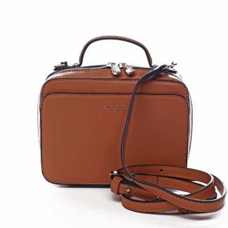 Dámská kabelka oranžová - David Jones Zara oranžová