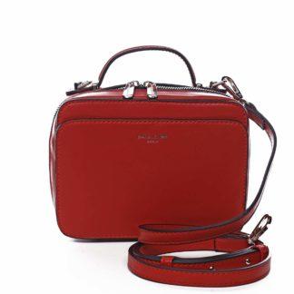 Dámská kabelka červená - David Jones Zara červená