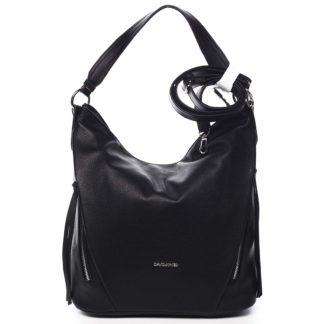 Dámská kabelka přes rameno černá - David Jones Rihanna černá
