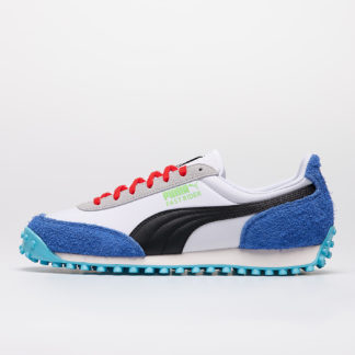 Puma Fast Rider Ride On Puma White-Dazzling Blue